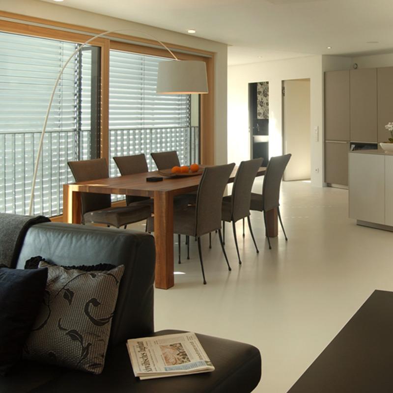 Wohnraumbodenbeschichtungen