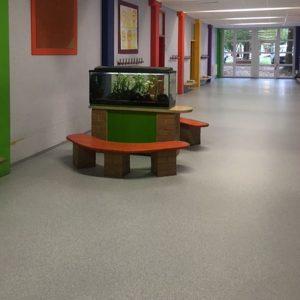 Bodenbelag Grundschule Rottenburg